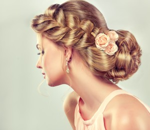 Wedding hairstyles through time